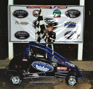 Ethan Burdett wins Blue Rookie