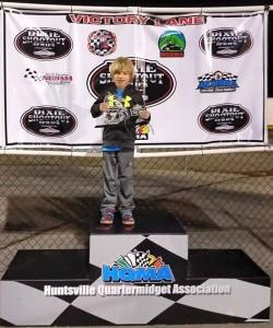 Gavan Boschele Wins Jr Honda & Jr Animal