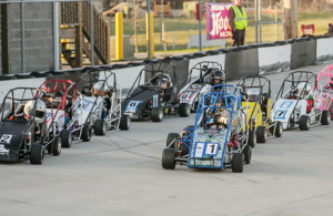 Jr Honda Class Takes the Green Flag