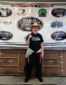 Levi Riffle Wins Heavy Honda