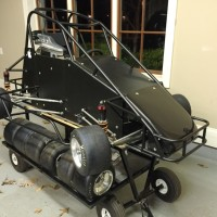 "Stanley 76"" Complete Car with Cart and Spares for Sale"
